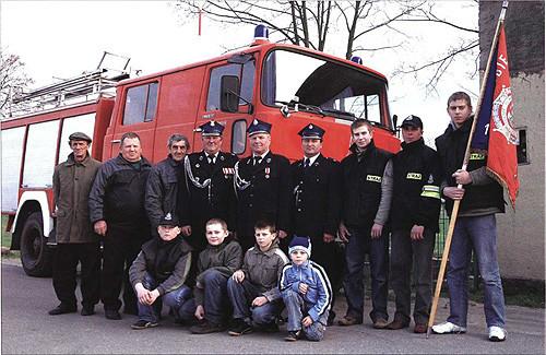 Jednostka straży pożarnej w Gołych Łazach